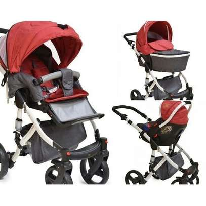 3 in 1 Stroller Set Combo & Carry Cot (A stroller, bassinet & carrycot) image 1