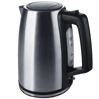 Ramtons Cordless Eletrci Kettle 1.7Liters Stainless Steel (RM/439) image 1