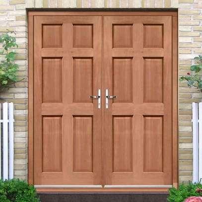 Mahogany doors image 1