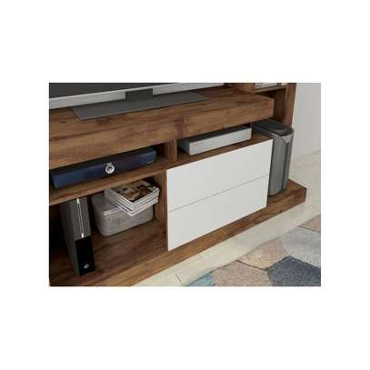 TV Wall Unit Rack ( Entertainment Unit Siberian ) -  for up to 46 inch TV image 2