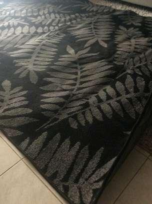 A Modern Black and Grey Carpet image 4