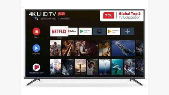 TCL 50 inches IPQ-TV Android Smart UHD-4K Digital TV image 1