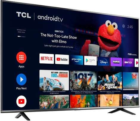 TCL 55 inches Android 55P615 Smart UHD-4K Digital TVs image 1