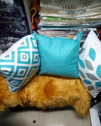 Blue Throw Pillow Covers image 3