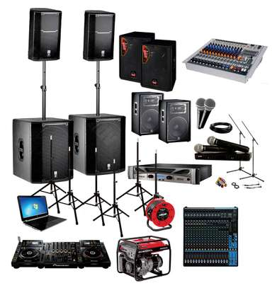 PA System,Projector and Screen for Hire image 1