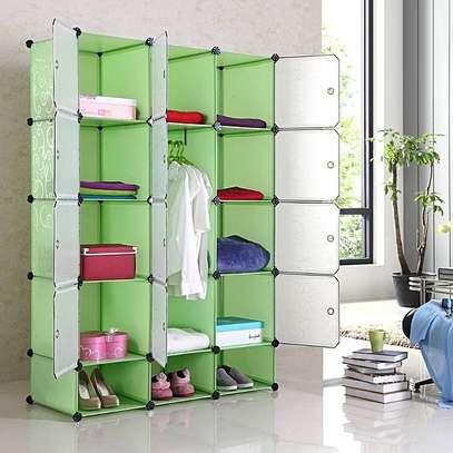 green plastic wardrobes image 1