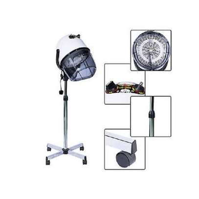Floor Stand Hood Hair Dryer Black-CERIOTTI image 1