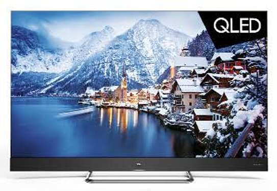 TCL C8 55 inches Q-LED Android Smart 4k Tvs 55C815 image 1