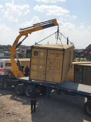 Container transport and crane trucks for hire image 2