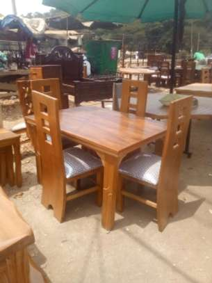 4 Seater Dinning Table Solid Wood