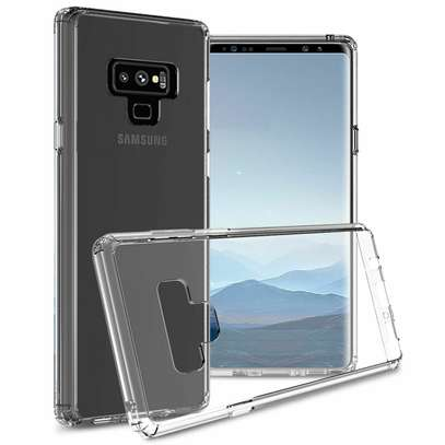 Clear TPU Soft Transparent case for Samsung Note 9 image 2