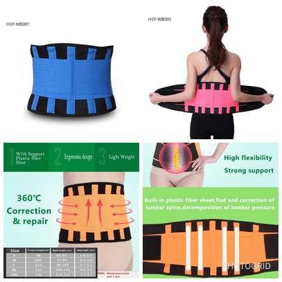Adjustable slimming belt image 1