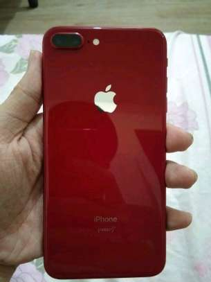 Apple Iphone 8 Plus : 256 Gb Red & Iwatch Series 8 Plus ( gps and cellular version ) image 2