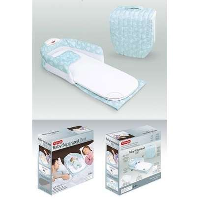 Ibaby Portable Can Go Out To Carry A Crib In The Bed Multi-Function Foldable Baby Newborn Baby BB Bed with Lights and Music image 2
