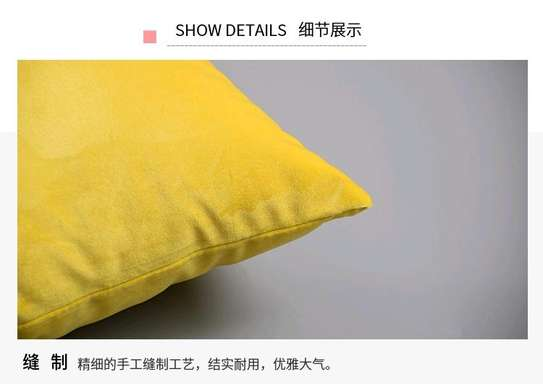 YELLOW SWEDE QUALITY THROW PILLOWS image 1
