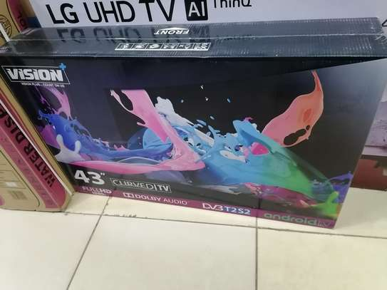 Brand new 43 inch vision smart android curved tv