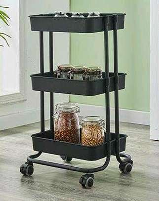 3 tier  movable Trolley image 1
