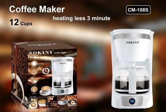 Coffee Maker- 1.5 L,12 Cups, Coffee Machine image 1