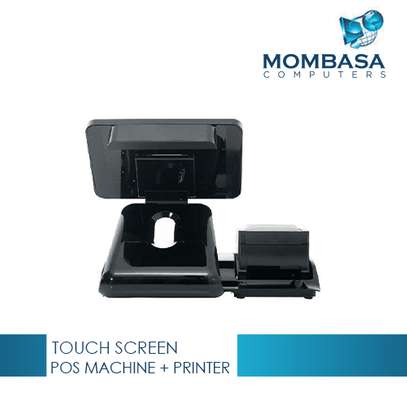 Touch Screen POS Machine with External 58mm Thermal Printer image 2