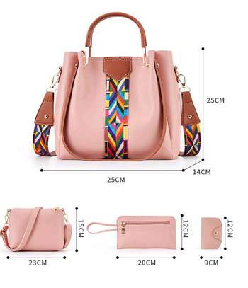 4 in 1 ladies PU leather bags