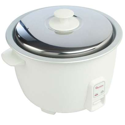RICE COOKER+STEAMER 3.6 LITERS WHITE image 3
