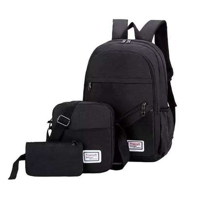 3 IN 1 LAPTOP BAG WITH USB CHARGING CABLE WHOLESALERS AND RETAILERS IN KENYA image 1