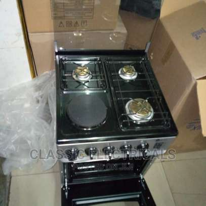 3gas+1hot Plate Standing Cooker With Electric Oven Available image 1