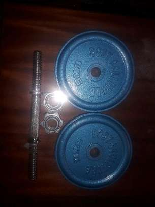 12kg chrome dumbell