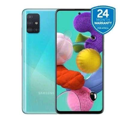 Samsung Galaxy A51 - 6.5, 6GB + 128GB (4G Dual SIM) -> ,Prism Crush Blue image 1