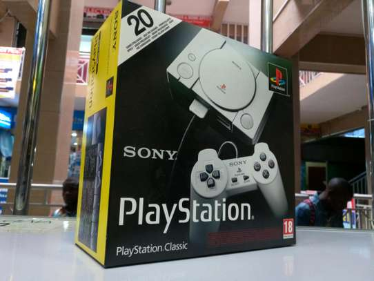 Playstation Classic with 20 preloaded games