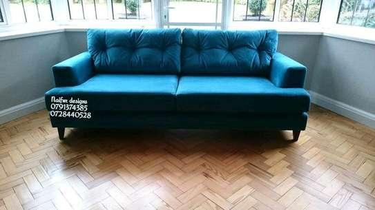 Two seater sofas/velvet sofas image 1