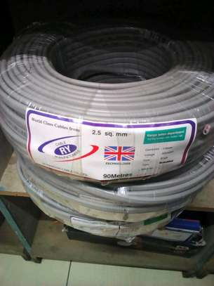 2.5 mm Twin with Earth Electrical cables