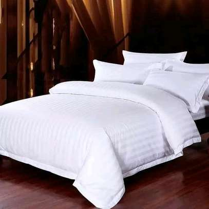 WHITE STRIPPED COTTON DUVET COVERS image 3