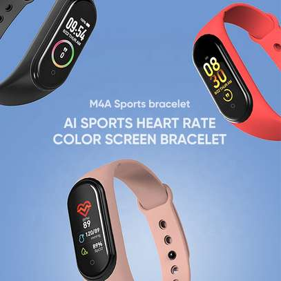 Smart Fitness Watch Bracelet M4 Tracker Band Activity Heart Rate Monitor image 9