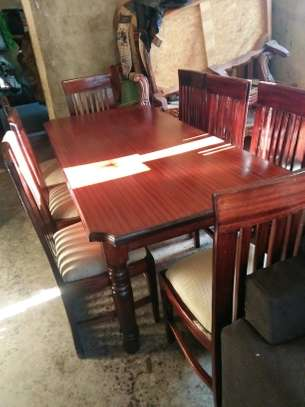 8-seater dining table set image 2