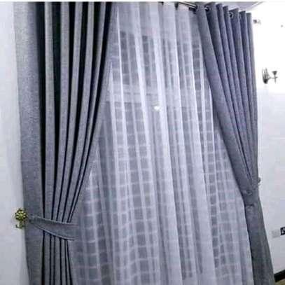 Heavy curtains