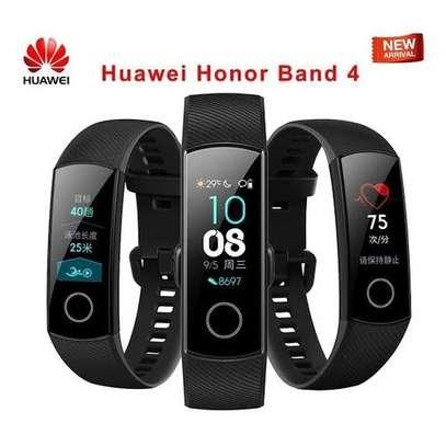 Huawei Honor Band 4 Smart Watch 50M Waterproof-Black image 1