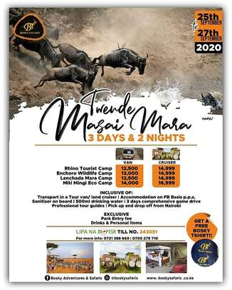 3 Days & 2 Nights Masai Mara Safari image 1