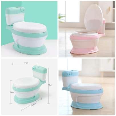 Portable Cute Baby Potty Multifunction Toilet Seat Girls Boy Training Pot. image 1