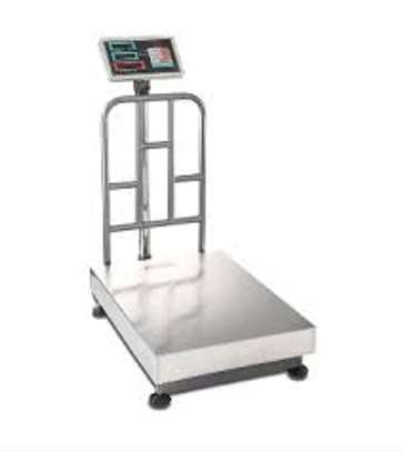 DIGITAL PLATFORM Weighing SCALE /STAINLESS AND CAST IRON 300kg image 1