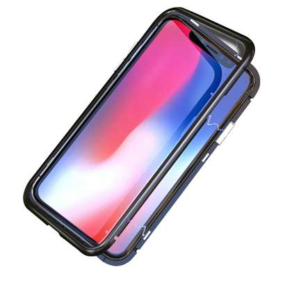 Magnetic Case For iPhone 8 8 Plus With Metal Frame, Glass Back image 9