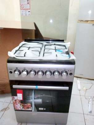 3 gas 1 electric Gas Cooker image 1