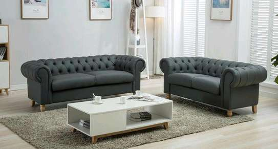 5seater Chesterfield sofa set image 1