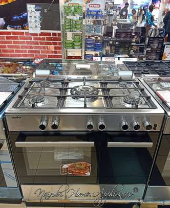 SIMFER 5 GAS BURNER COOKER