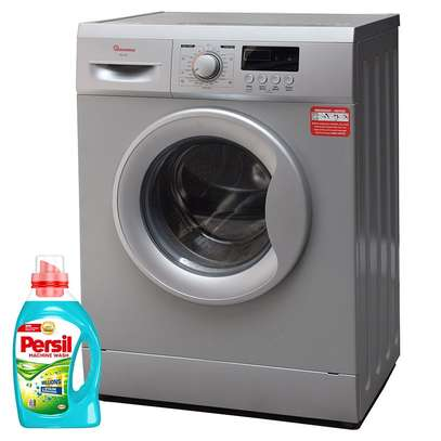 RAMTONS FRONT LOAD FULLY AUTOMATIC 7KG WASHER 1400RPM + FREE PERSIL GEL- RW/144 image 1