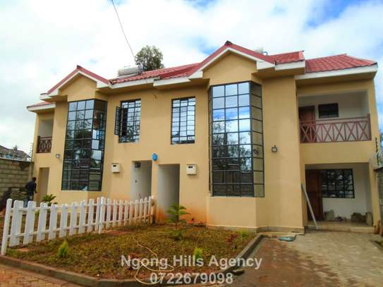 Four bedrooms townhouse with a DSQ for rent in Kibiko image 1