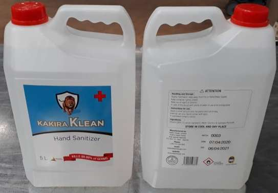 Kakira Klean 5 Litres Hand Sanitizer image 1