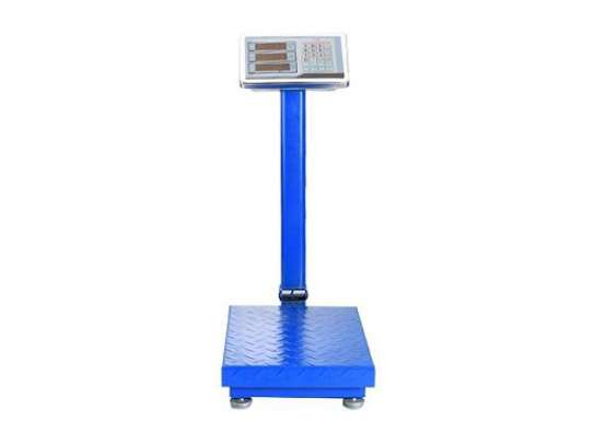 150kgs digital weighing scale platform SS body scale image 2