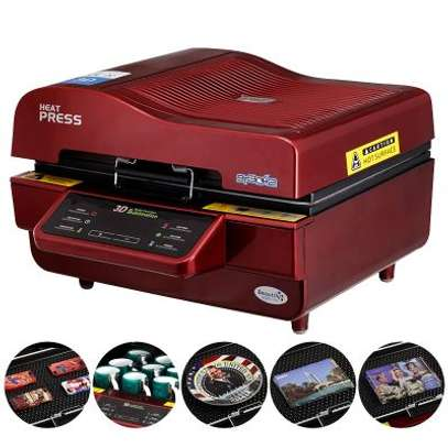 3D Sublimation Heat Press