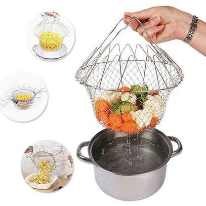 Chef Basket – Silver image 1